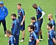 A moment of training session of the Italian national soccer team at Coverciano sports center in Florence, Italy, 2 June 2016. The team prepares the last frendly game against Finland on Monday 6 June at Bentegodi Stadium in Verona before the upcoming Uefa Euro 2016 soccer championship in France. ANSA/ MAURIZIO DEGL'INNOCENTI