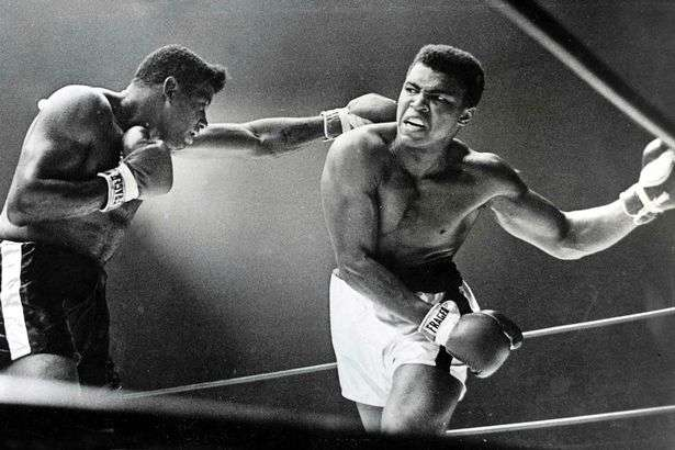 American-heavyweight-champion-Cassius-Clay-later-Muhammad-Ali-ducks-a-left-hand-jab