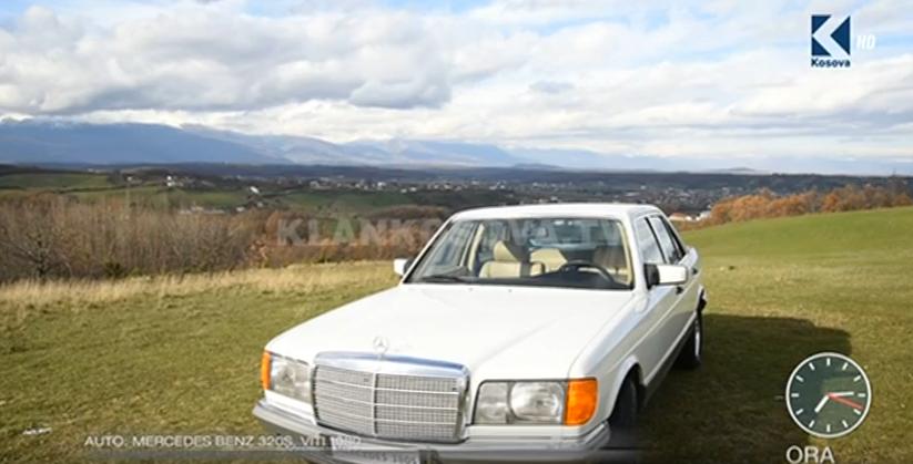 Mercedes benz 320s viti 1980 video klan kosova for Mercedes benz viti