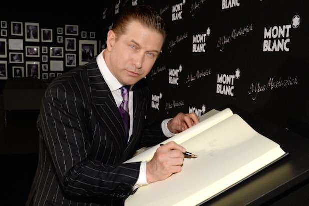 NEW YORK, NY - APRIL 03: Actor Stephen Baldwin attends Montblanc Celebrates 90 Years of the Iconic Meisterstuck on April 3, 2014 at Guastavino's in New York City. (Photo by Larry Busacca/Getty Images for Montblanc)