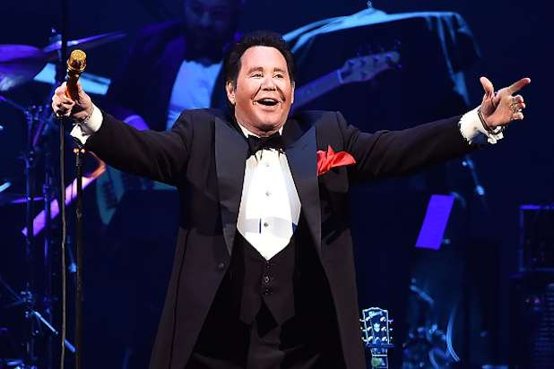 LAS VEGAS, NEVADA - APRIL 06: Entertainer Wayne Newton performs onstage during the grand opening of T-Mobile Arena on April 6, 2016 in Las Vegas, Nevada. (Photo by Kevin Winter/Getty Images for ABA)