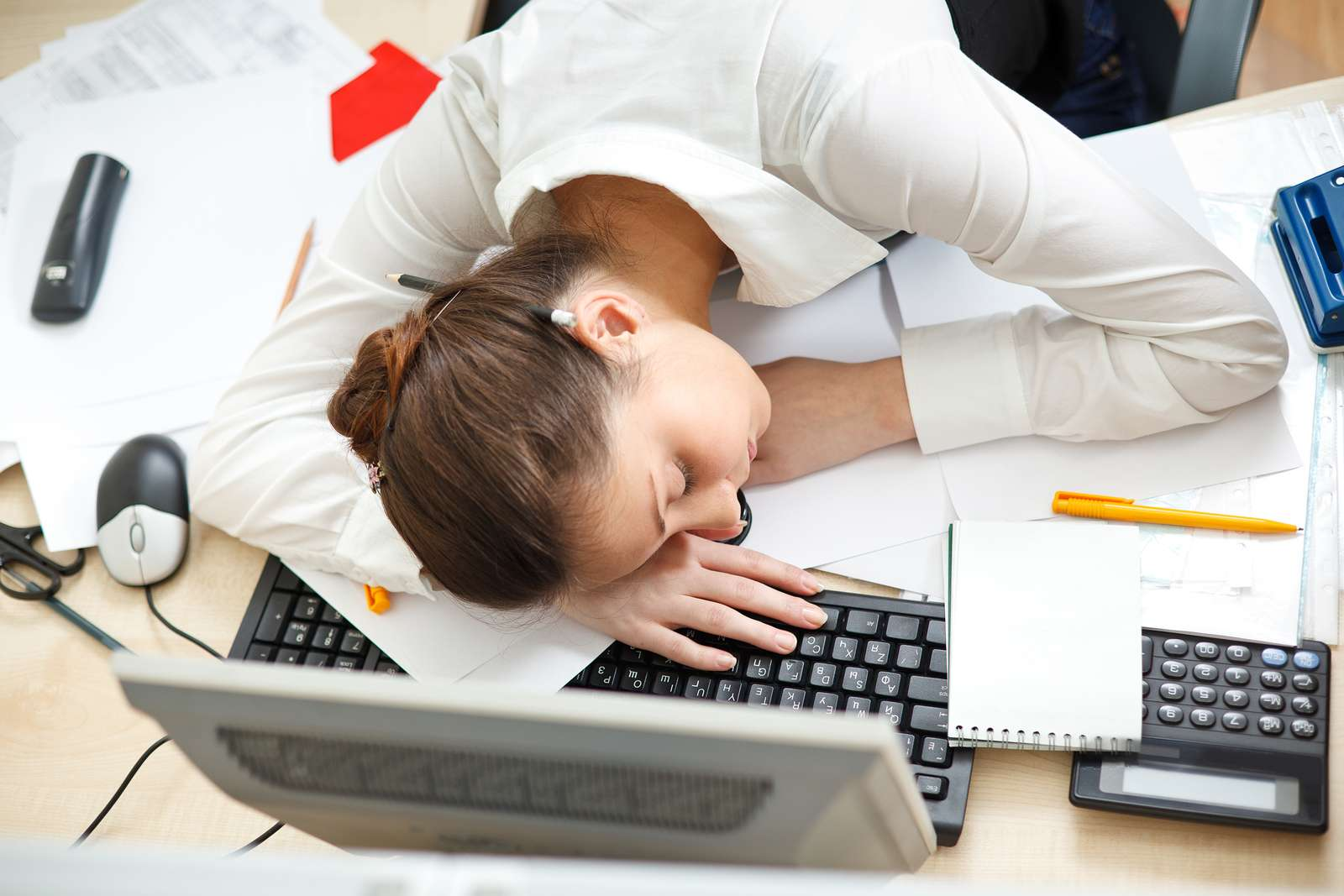 bigstock-office-life-young-woman-sleep-26595899