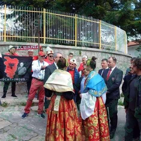 Arbreshët e Palermos vizitohen nga një delegacion shqiptar  FOTO VIDEO