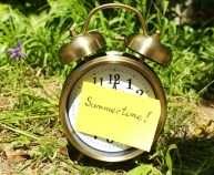 clock-summer-time-garden