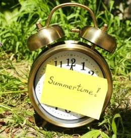 clock-summer-time-garden
