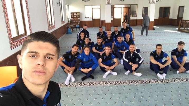 Futbollistët e Kosovës e falin xhumanë para përballjes me Islandën
