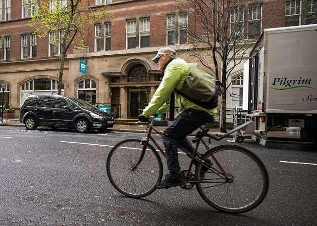 RNIB aren't happy about a proposed Cycle Super Highway outside their offices in Judd St