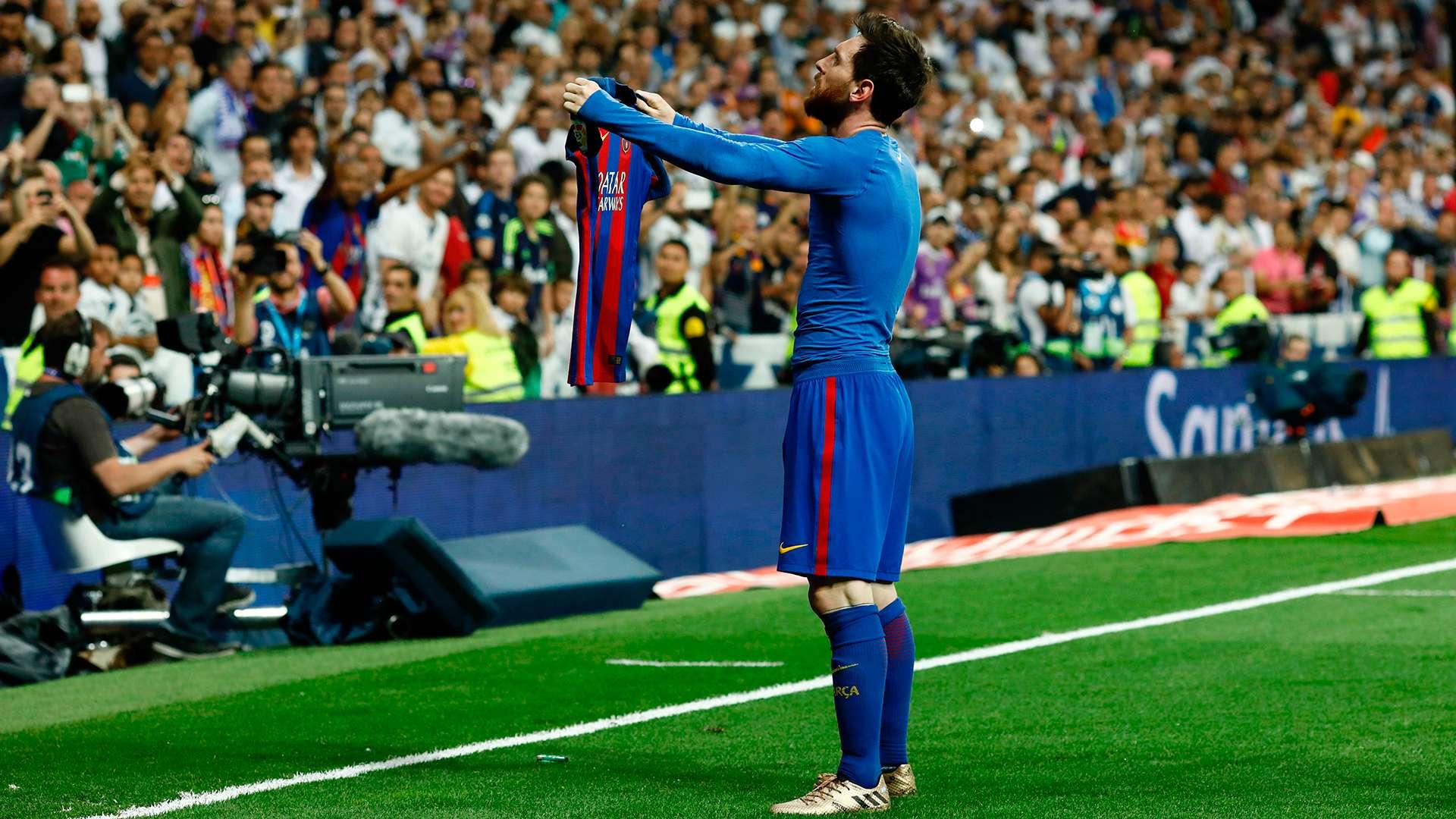 Karikatura e ditës  Messi sipër Real Madrid