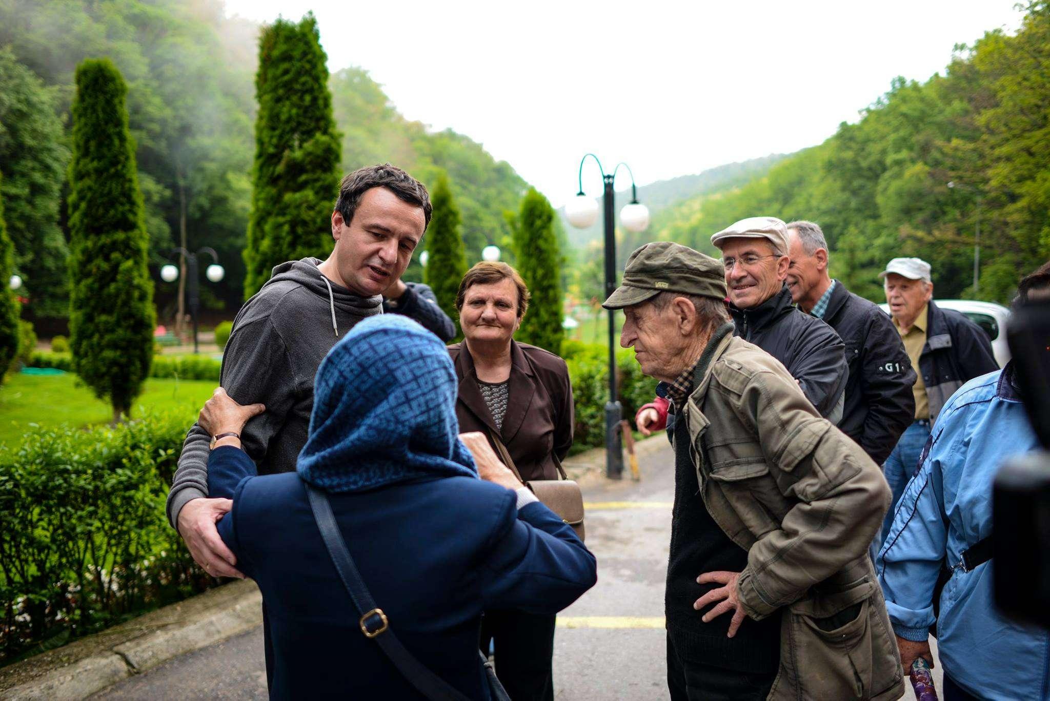 Kurti  Në mandatin e parë të Vetëvendosjes pensioni minimal 150 euro