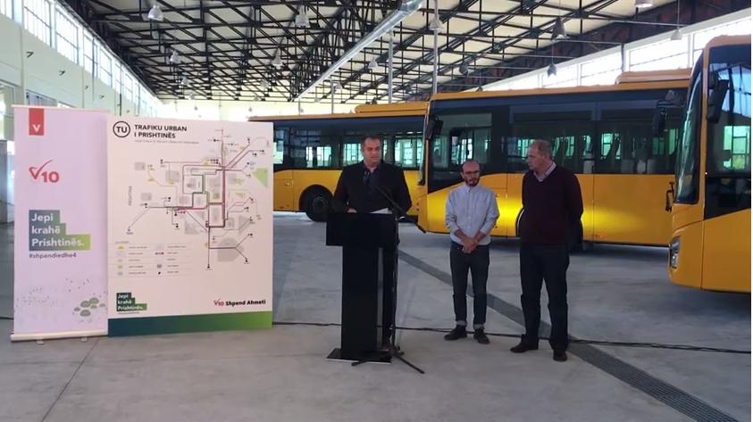Ahmeti prezanton linjat e reja të Trafikut Urban