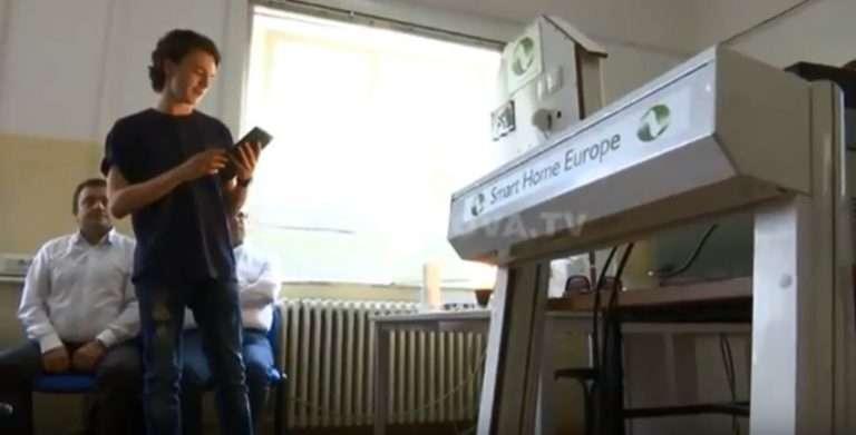 """Nxënësit prezantojnë programin """"Smart Home"""" (VIDEO)"""