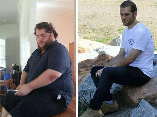 Djaloshi që i humbi 120 kilogramë