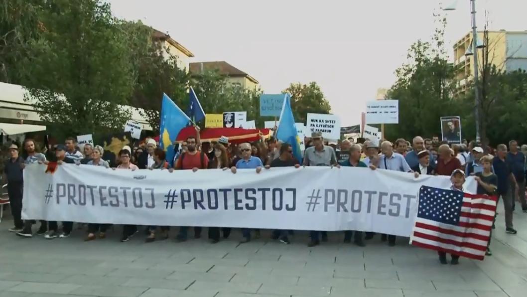 """""""Protestoj"""" më 5 shtator protestë kundër Thaçit"""