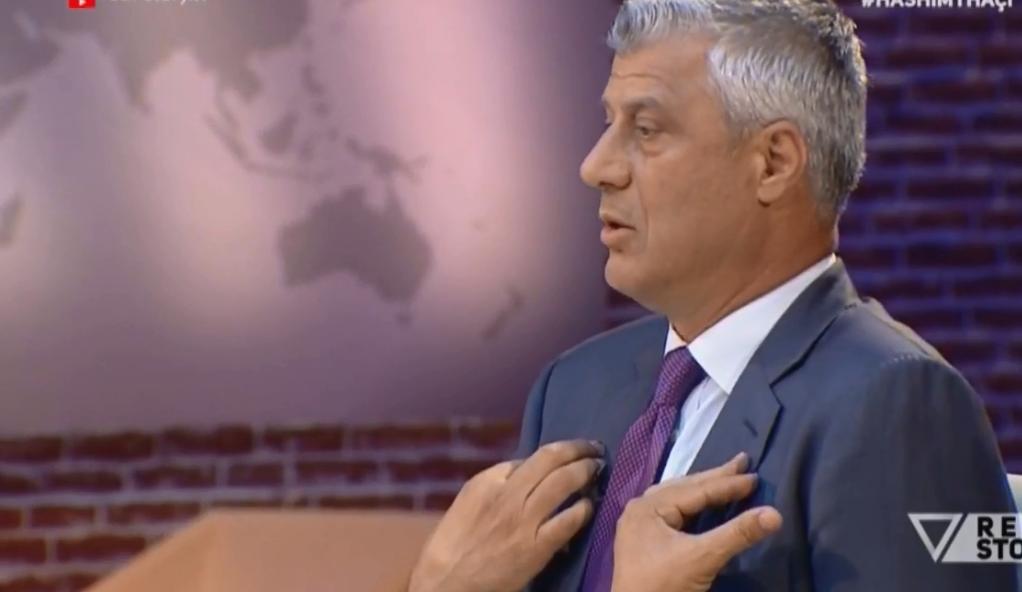 Hashim Thaçi  Është gënjeshtër dhe manipulim që korrigjimi i kufirit Kosovë Serbi i sjell probleme rajonit