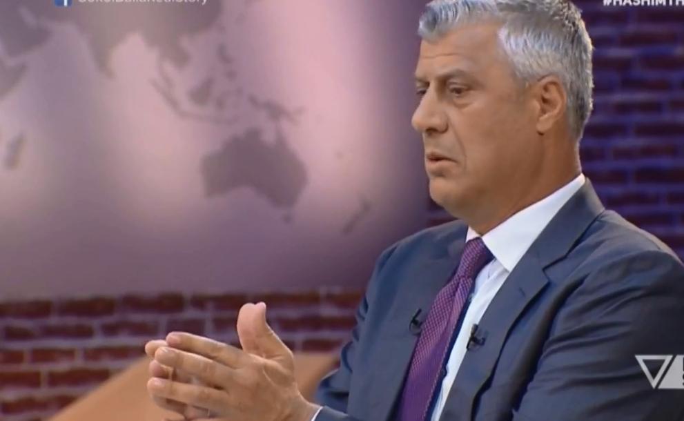 Thaçi  E them çdo ditë dhe kam bindjen që do ta jetësojmë bashkimin e Luginës me Kosovën
