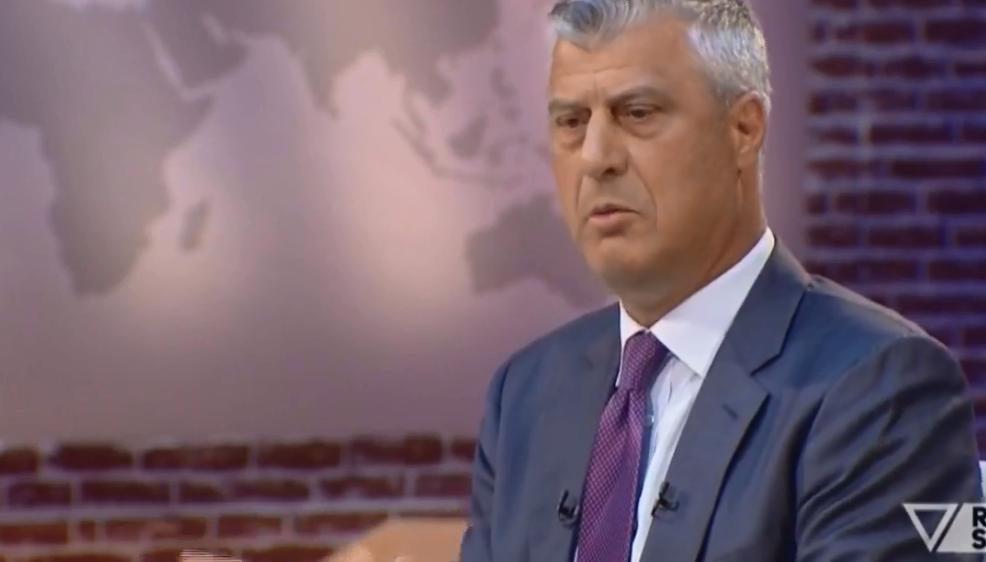 Thaçi  Sa më shpejt që arrihet marrëveshja Kosovë Serbi aq më afër është bashkimi kombëtar
