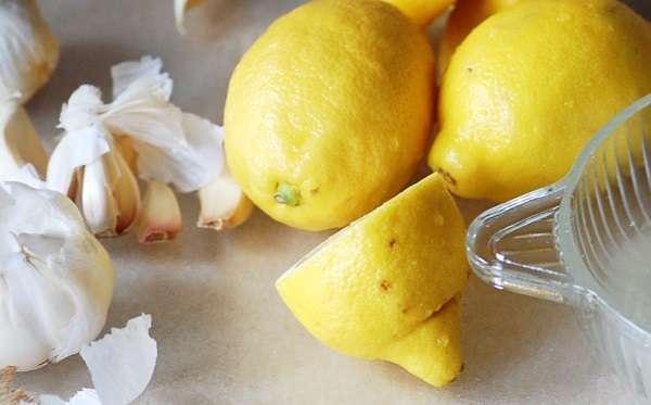 Lemon and Garlic Benefits