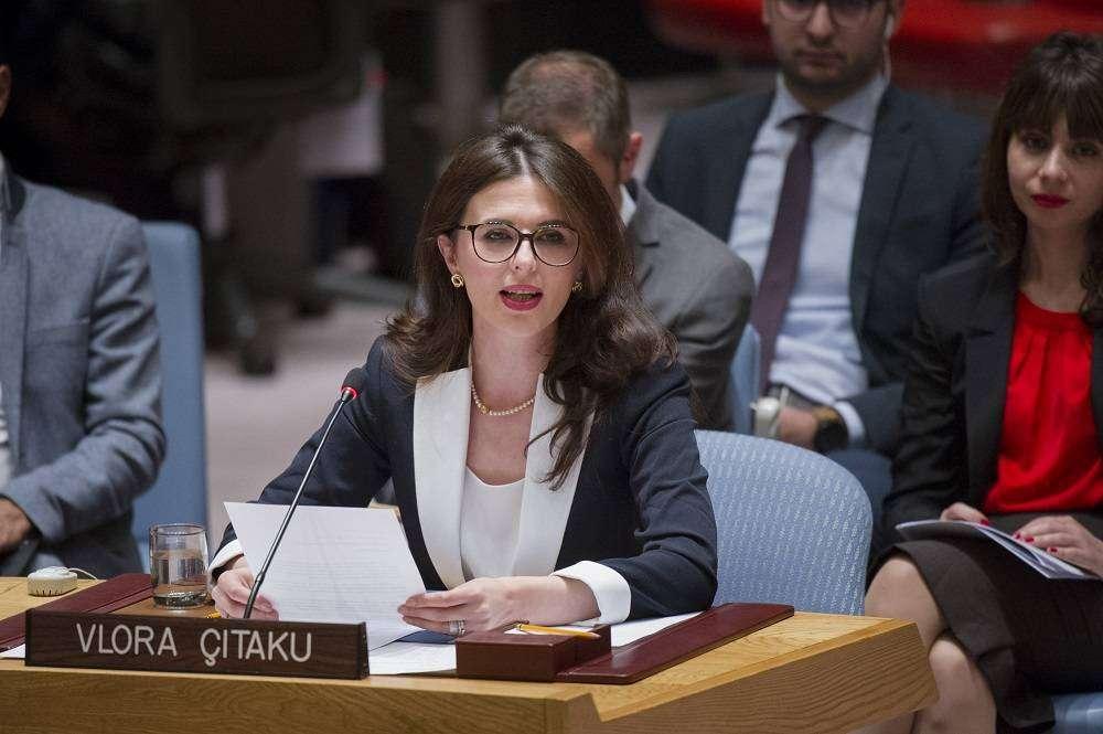 Çitaku i kundërpërgjigjet Daçiqit për Limajn  në OKB ajo flet edhe për dialogun e ushtrinë