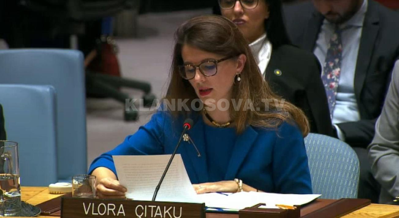 Çitaku në OKB  Për ushtrinë nuk e pyesim Serbinë