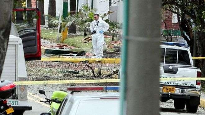 20 të vdekur pas shpërthimit të makinës bombë në kryeqytetin e Kolumbisë