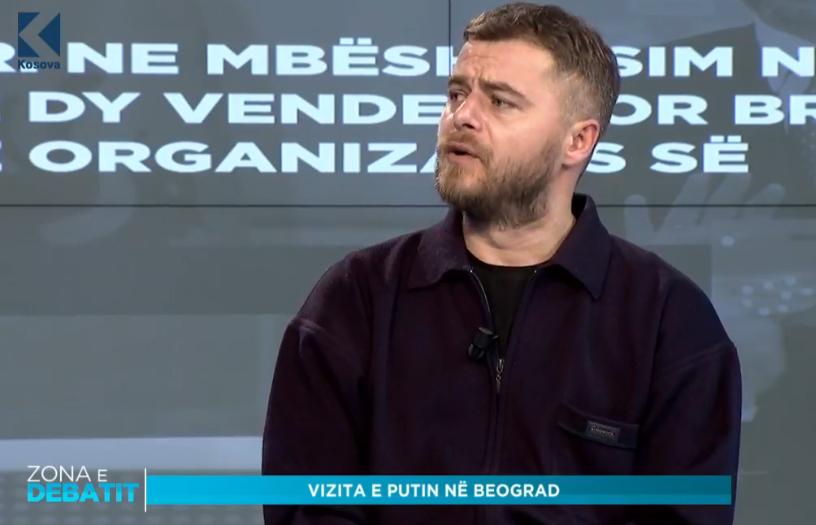 Tasholli  Serbia e konsideron Rusinë ndihmesë në raport me Kosovën