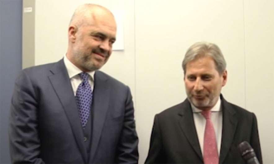 Hahn në Tiranë  Lufta kundër krimit  prioritet në marrëdhëniet BE Shqipëri