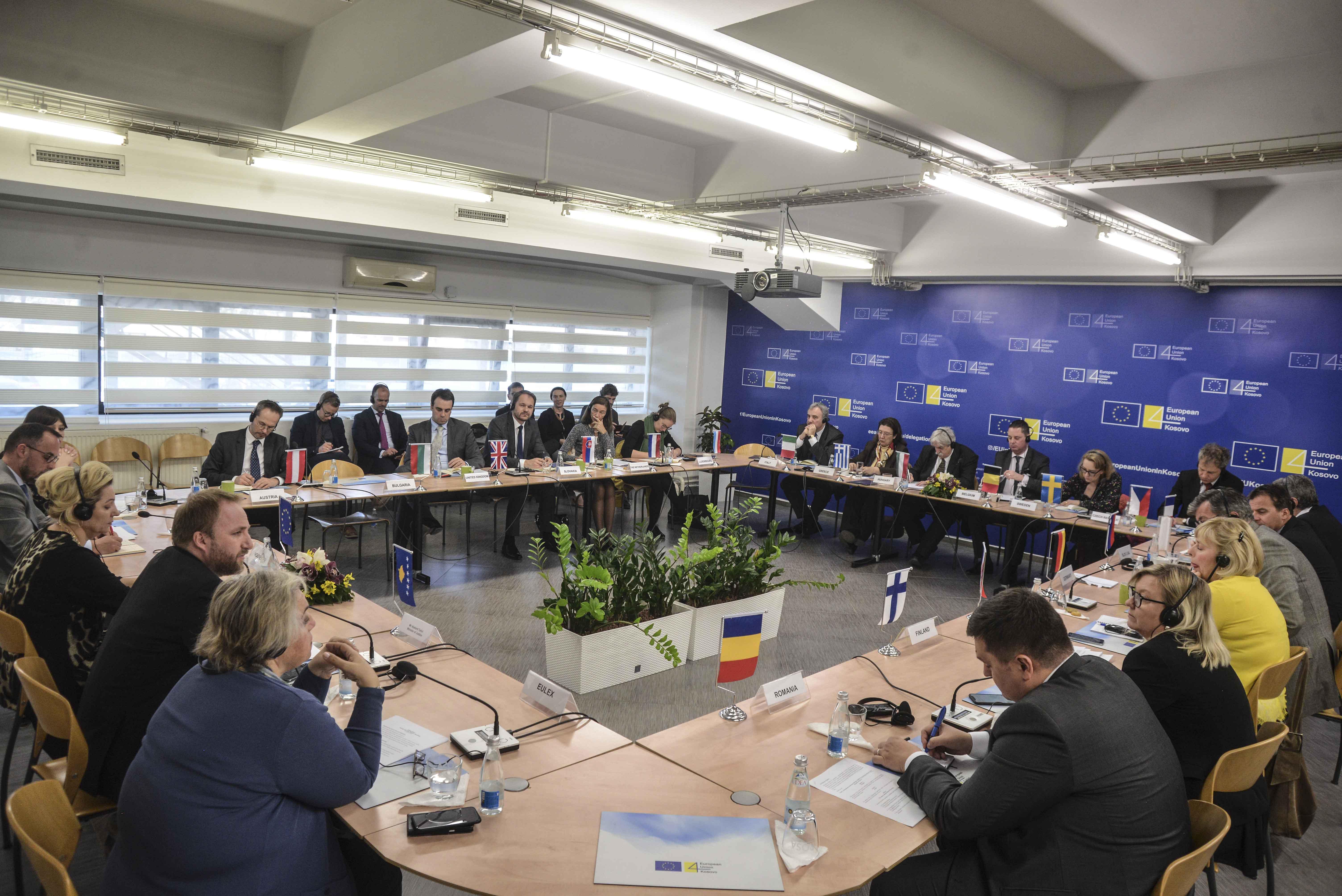 Tahiri u flet ambasadorëve të BE së për zhvillimet në sundimin e ligjit