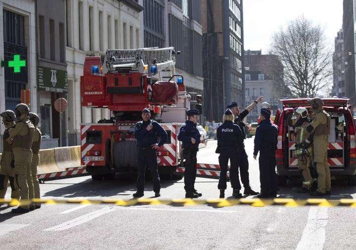 Kërcënim me bombë pranë zyreve të Bashkimit Europian në Bruksel