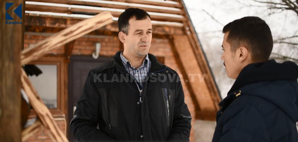 Në shtëpinë e drurit të Besim Gashit në fshatin Zllashë