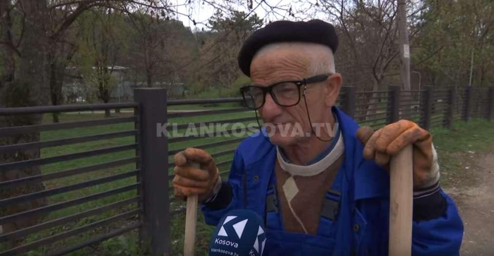 Agim Cubi, njeriu që për 42 vjet e pastroi Prishtinën (VIDEO)