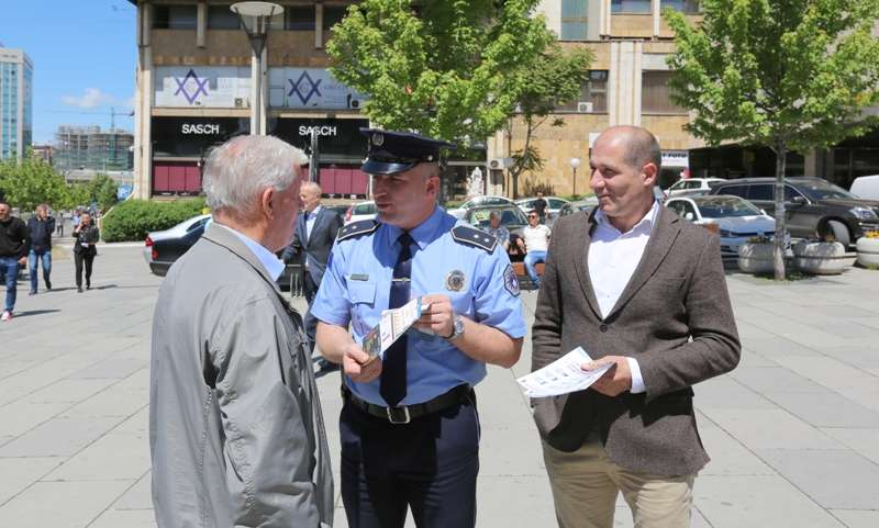 Policia e Kosovës lanson fushatën  Të gjithë jemi këmbësorë