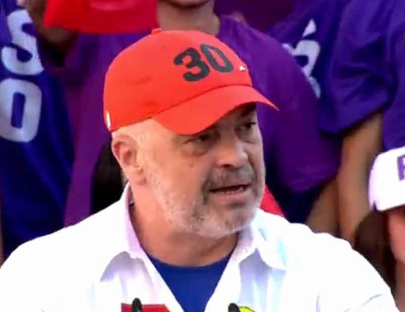 Rama në Tropojë  Opozita po luan me fatet e vendit  është plan antikombëtar