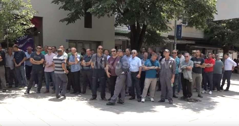 Punëtorët e KEK ut në protestë