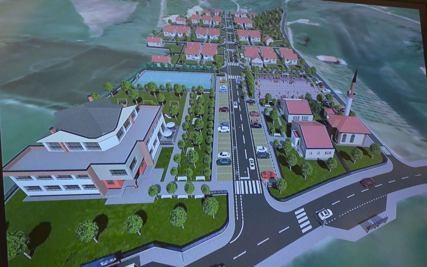 Mitrovica dhe  Qatar Charity  ndërtojnë 40 shtëpi  një shkollë  një xhami dhe katër lokale afariste