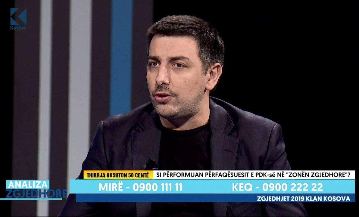 Valon Syla  Kadri Veseli po tregon vullnet politik për luftimin e korrupsionit