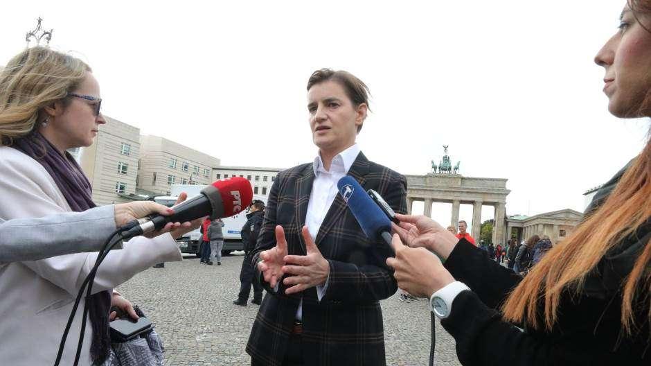Bërnabiq para takimit me Merkelin  S pres lëvizje  sasiore  në çështjen e Kosovës