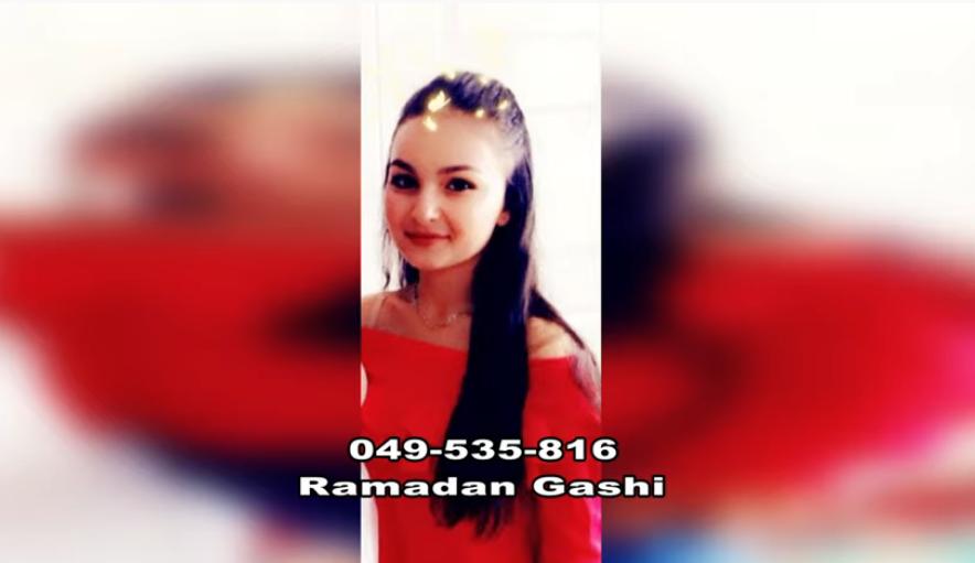 Familja Gashi kërkon Blerinën 18 vjeçare