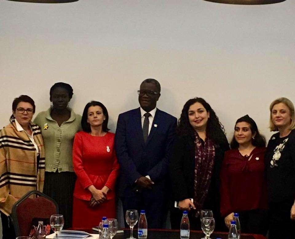 Osmani takohet me nobelistin Mukwege   flasin për viktimat e dhunës seksuale