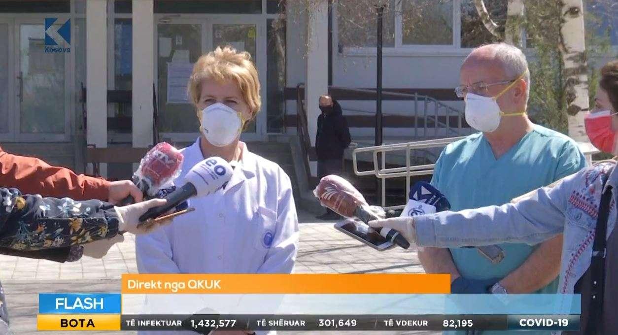 Lajm i mirë  Pacienti i parë me koronavirus sot lirohet në shtëpi