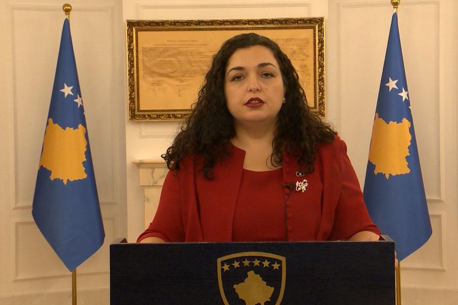 VJOSA OSMANI ËSHTË PRESIDENTE E KOSOVËS